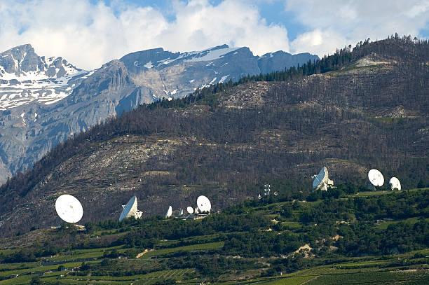 Satelliten-Erde Station – Foto