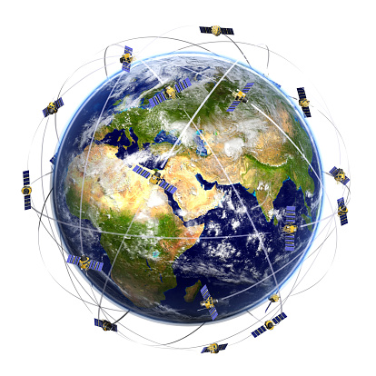 what is a satellite network