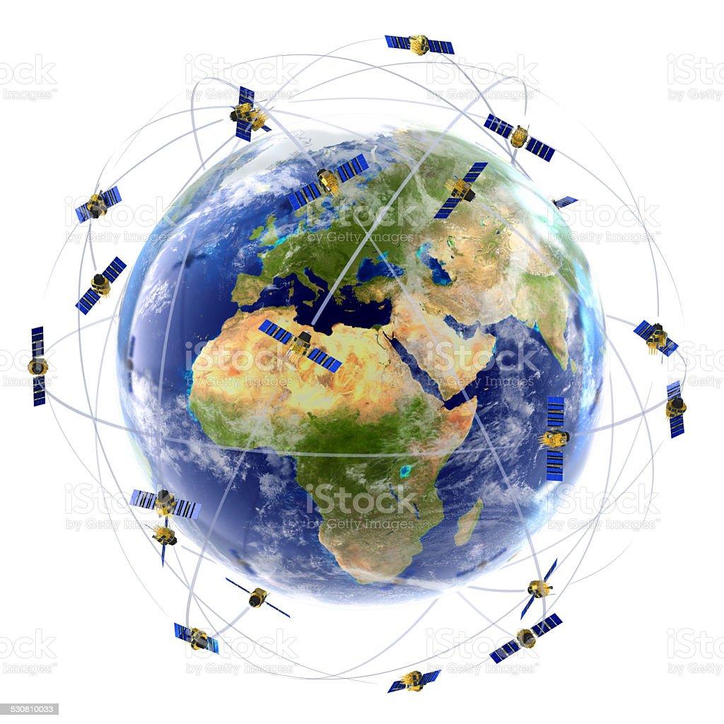 Réseau de télévision par Satellite - Photo