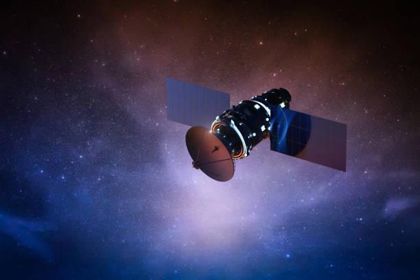 Satellite auf Platz – Foto