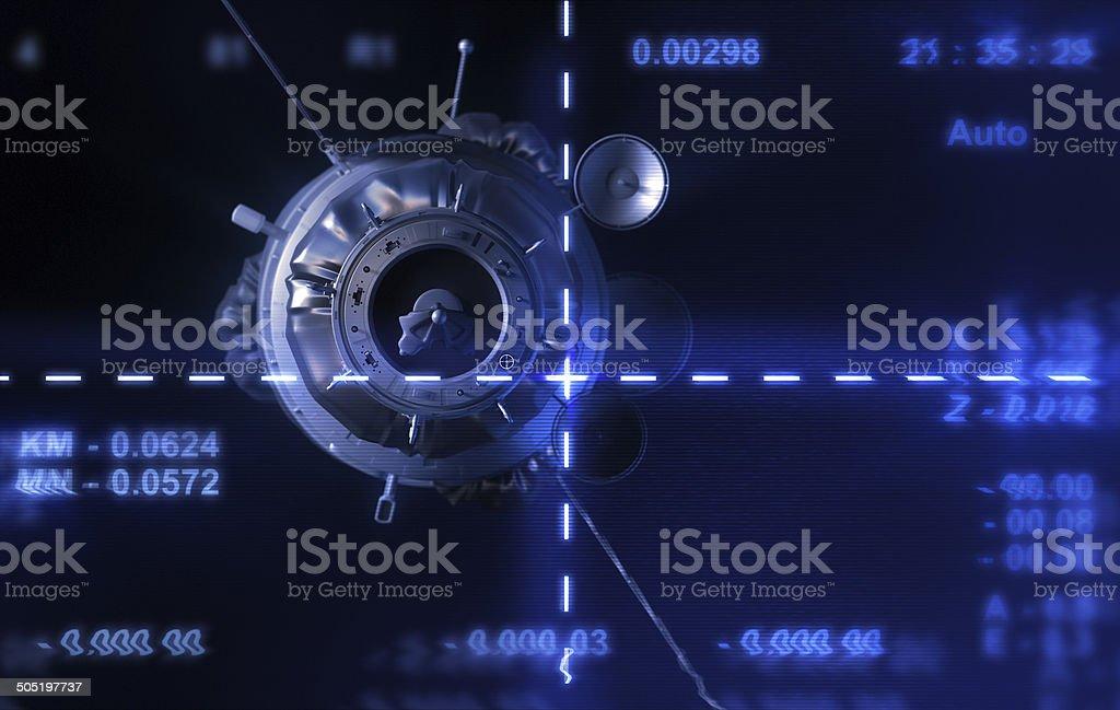 Satellite stock photo