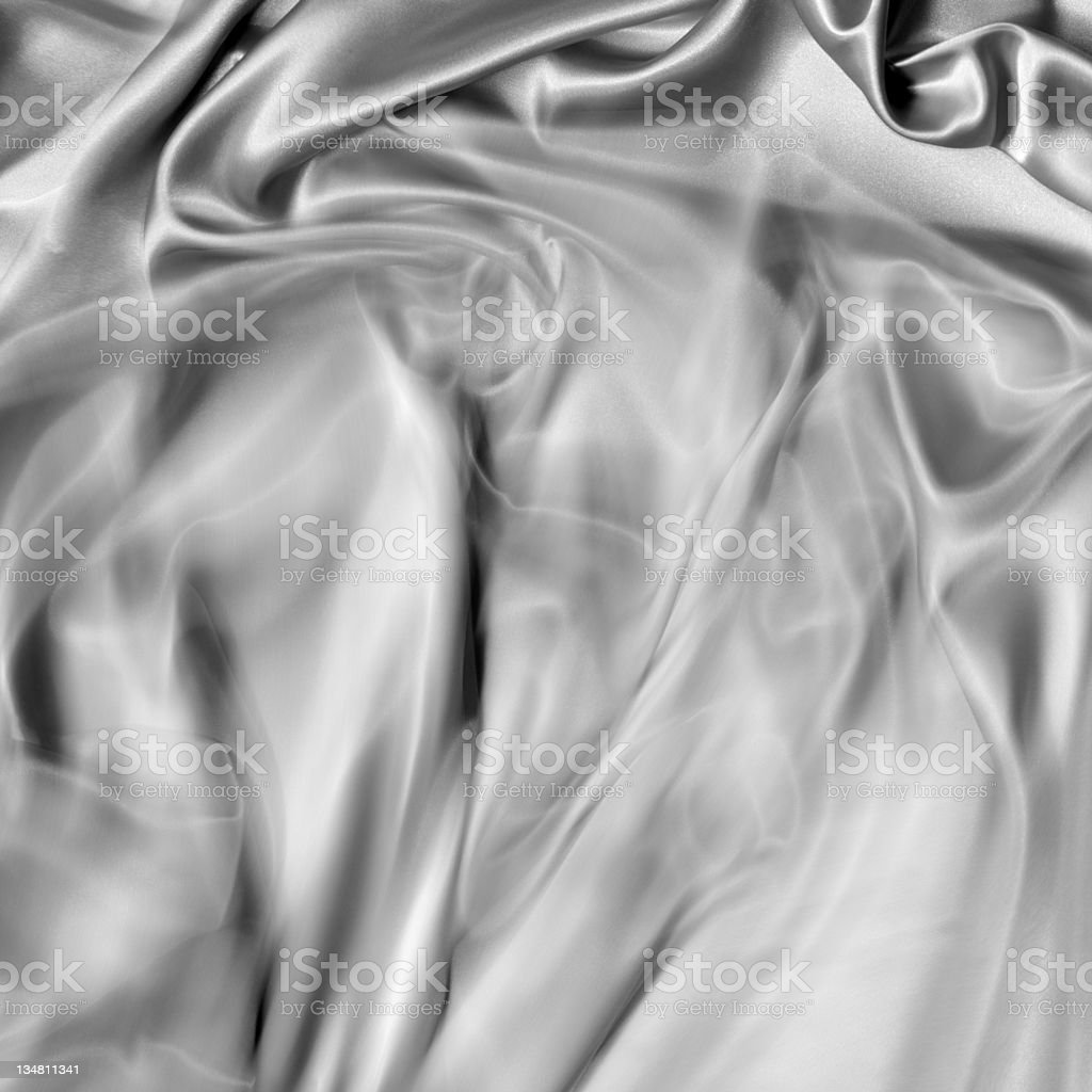 Satin silk in motion, doing a swing royalty-free stock photo