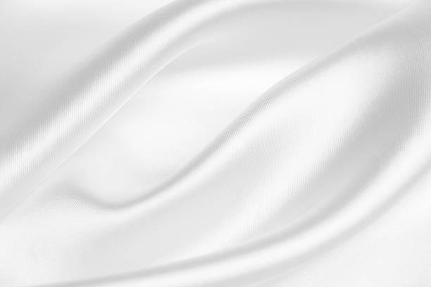 Satin white abstract background stock photo