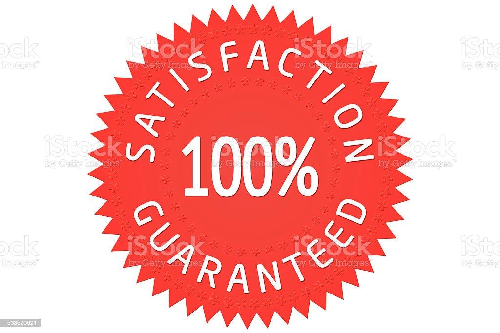 Soddisfazione garantita - foto stock
