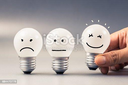 istock Satisfaction Light Bulb 684470778