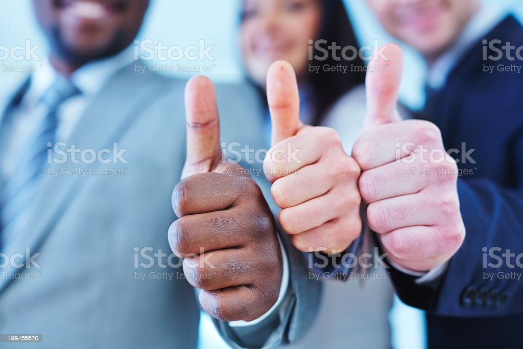 Satisfaction stock photo