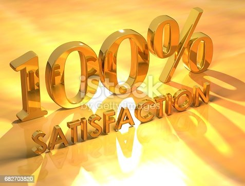 674991658 istock photo 100% Satisfaction 682703820
