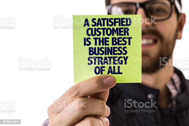 Satisfied customer is the best business strategy of all picture id826040844?b=1&k=6&m=826040844&s=612x612&h=yppyicldjjycu1wg7jyice8 o7tsxp8dj58s w  ozi=