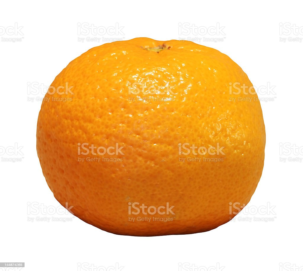 Satsuma Mandarin Orange royalty-free stock photo