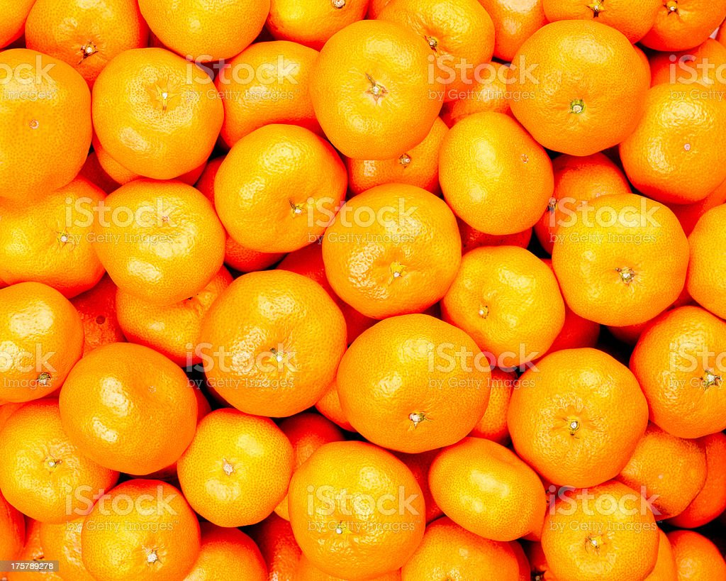 Satsuma mandarin stock photo