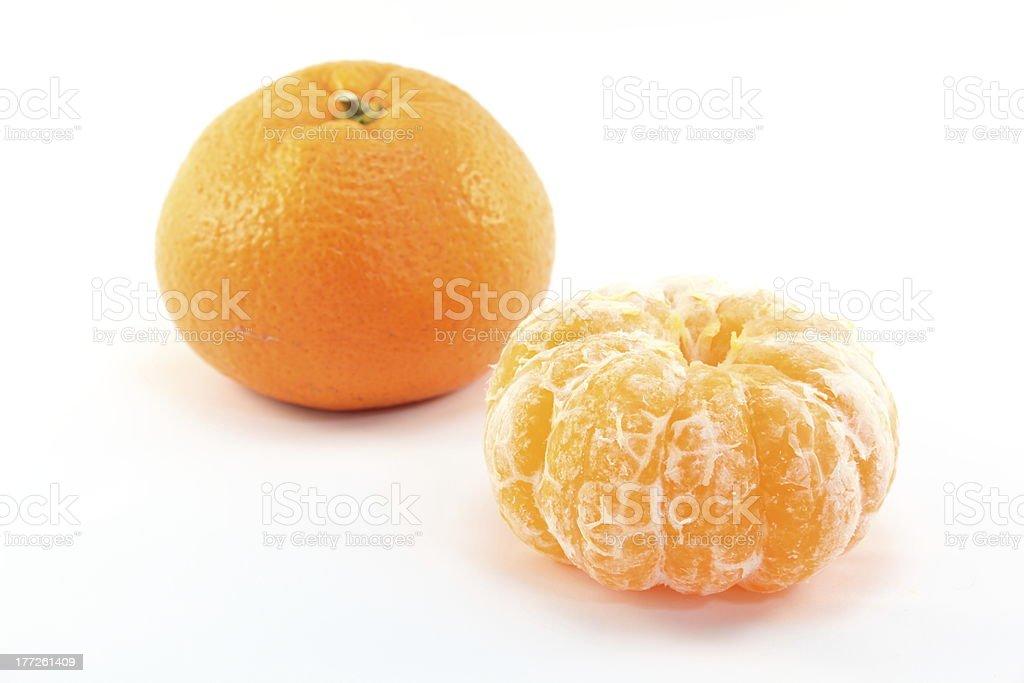 Satsuma orange stock photo