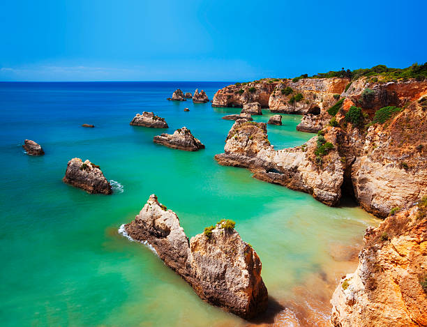 Algarve Beach - foto de stock