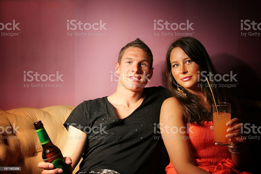 Saturday night party royalty-free stock photo