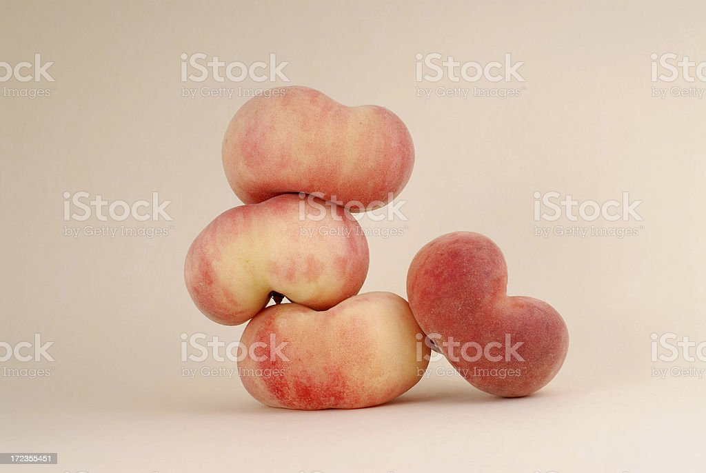 Saturn peaches royalty-free stock photo