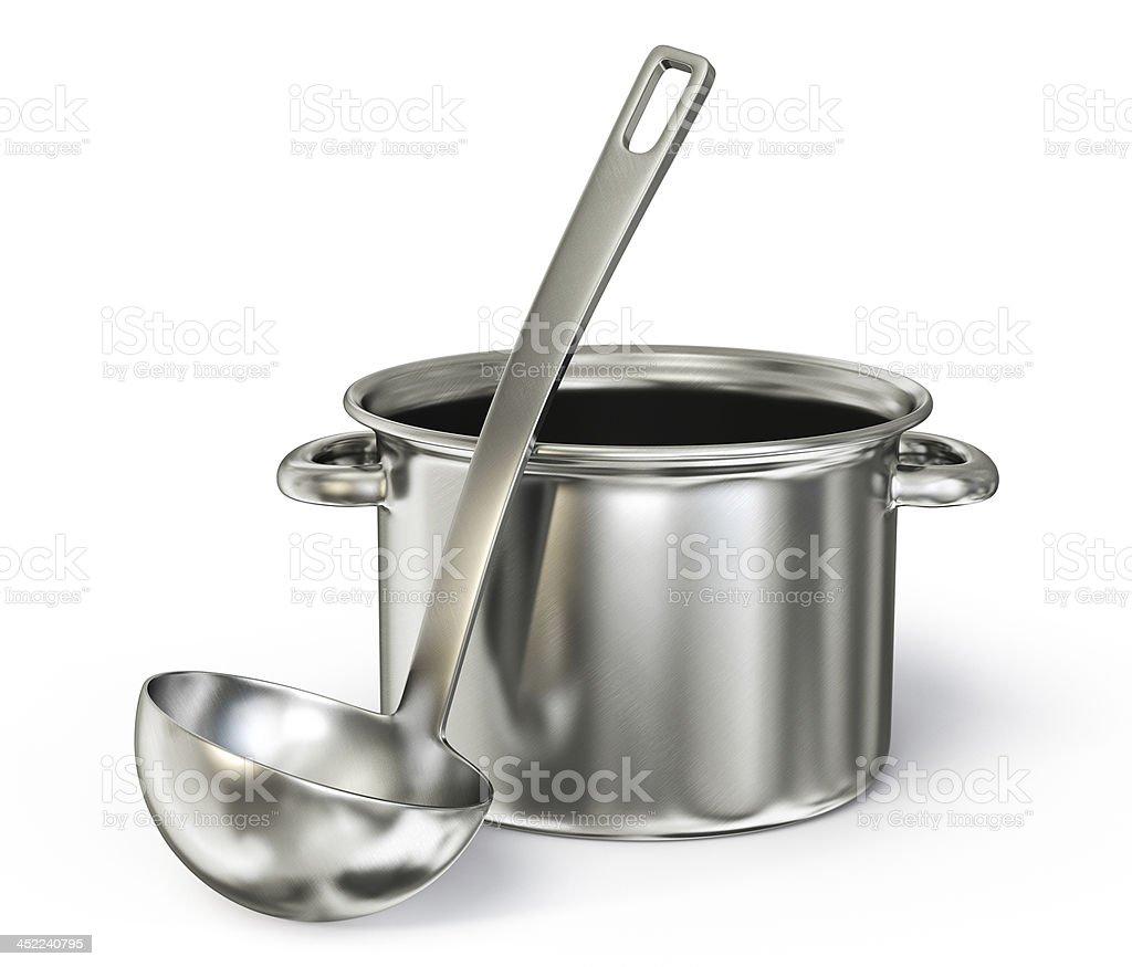 saucepan stock photo