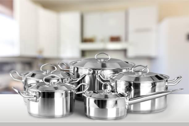 Saucepan. stock photo