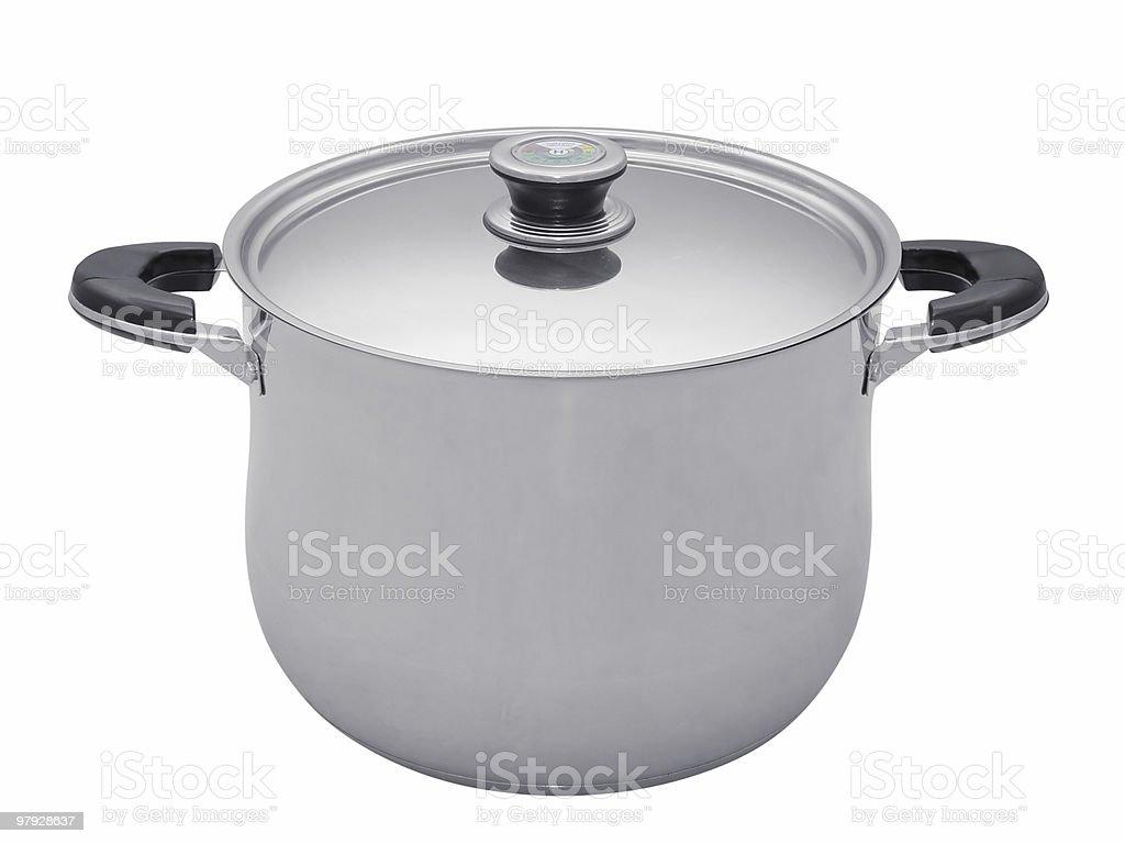 Saucepan royalty-free stock photo