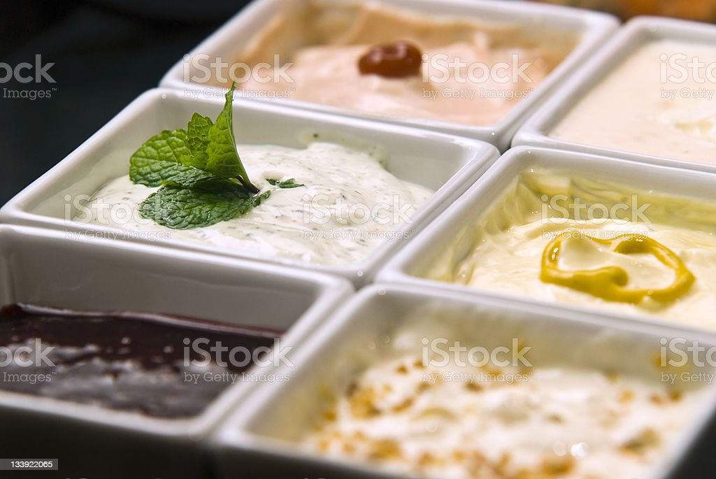Sauces royalty-free stock photo