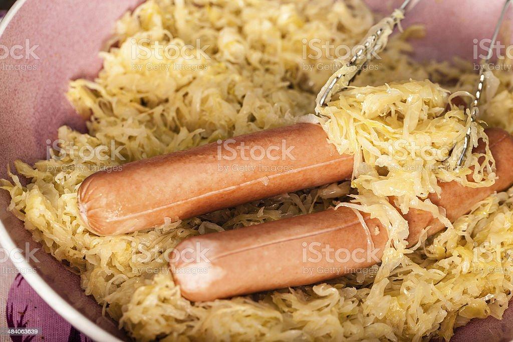 Choucroute et le wiener - Photo