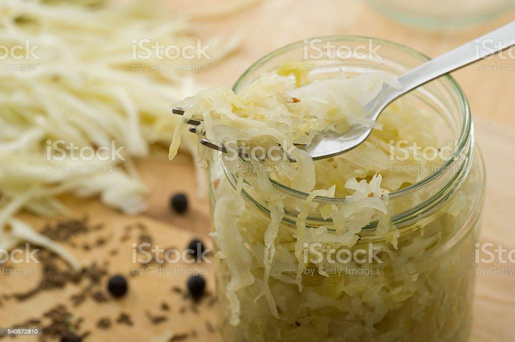 Sauerkraut bildbanksfoto