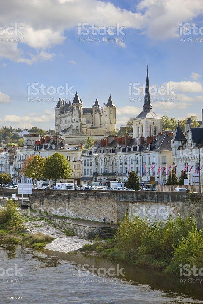 Saumur, Pays-de-la-Loire, France stock photo