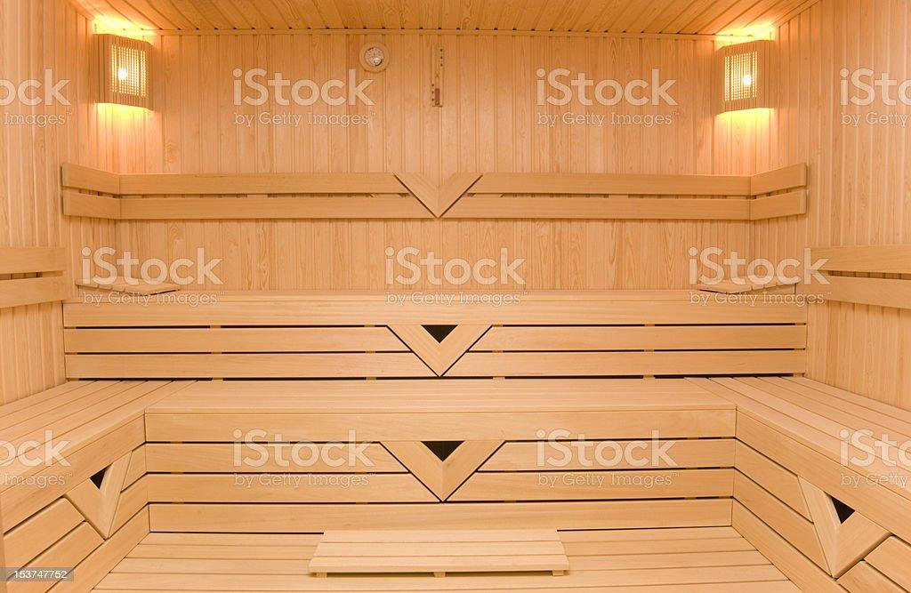 Eine sauna – Foto