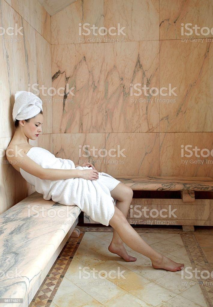 sauna royalty-free stock photo