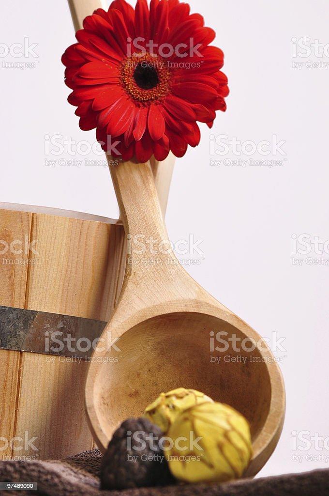 Sauna und Wellness royalty-free stock photo