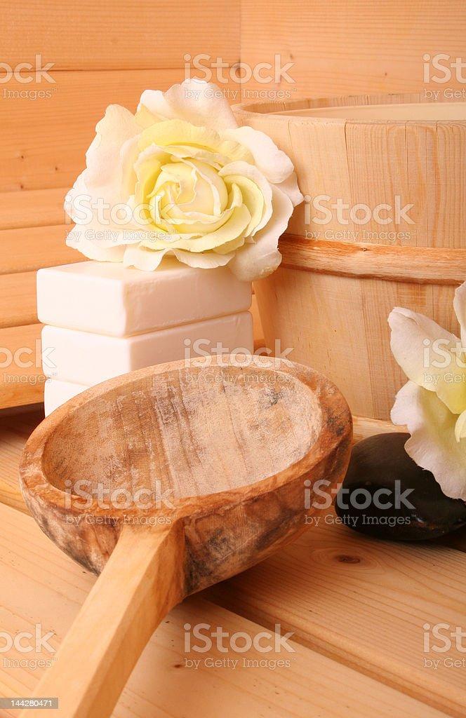 Sauna VIII royalty-free stock photo