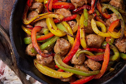 Sausage and Roast Peppers