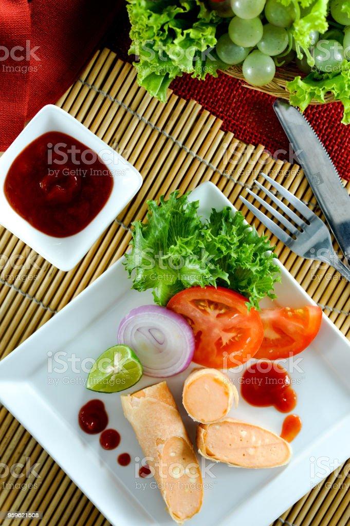 Queso chorizo - Foto de stock de Alimento libre de derechos