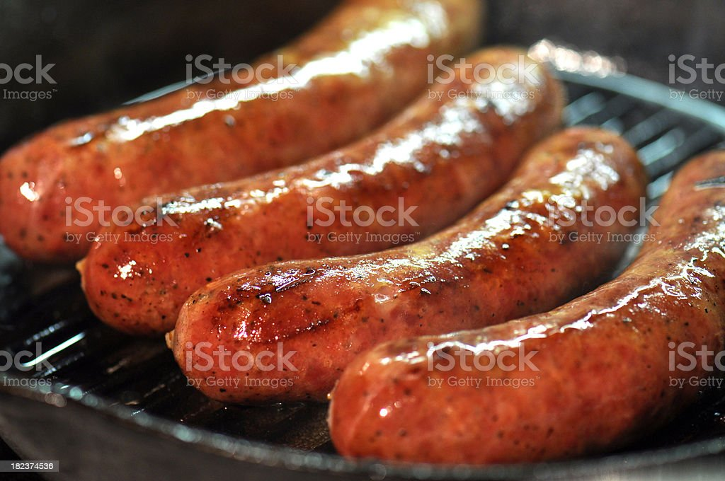 Sausages! stock photo