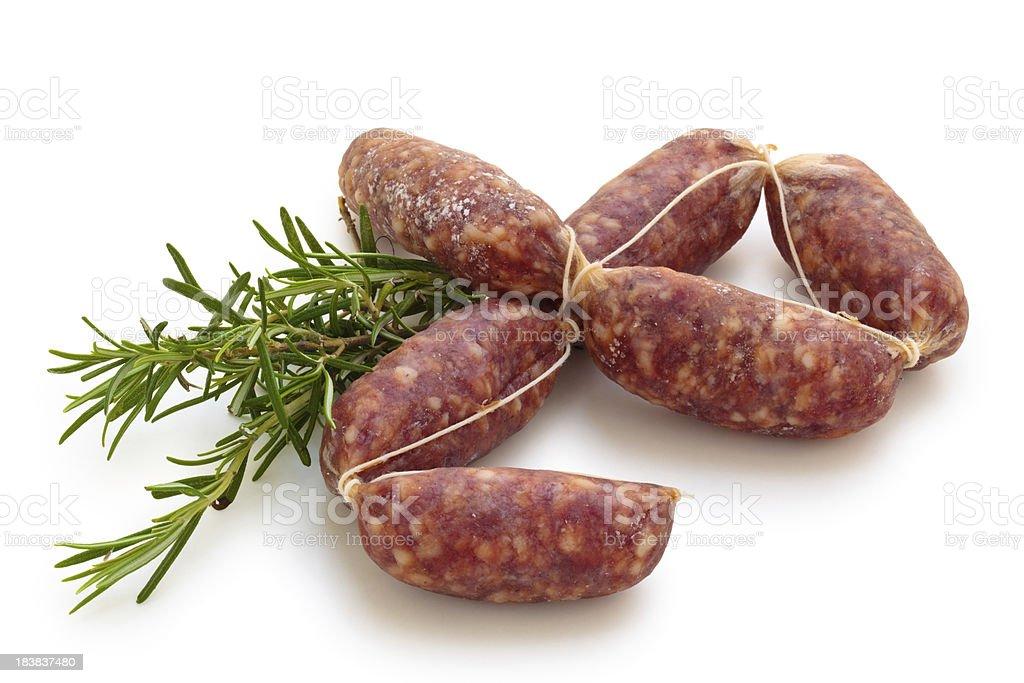 Sausages. stock photo