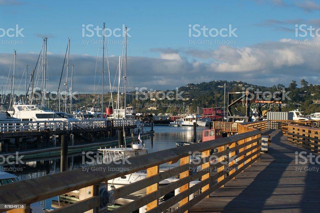 Sausalito California Marina stock photo