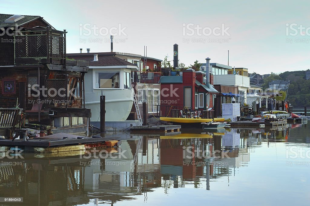 Sausalito - life on the water 2 royalty-free stock photo