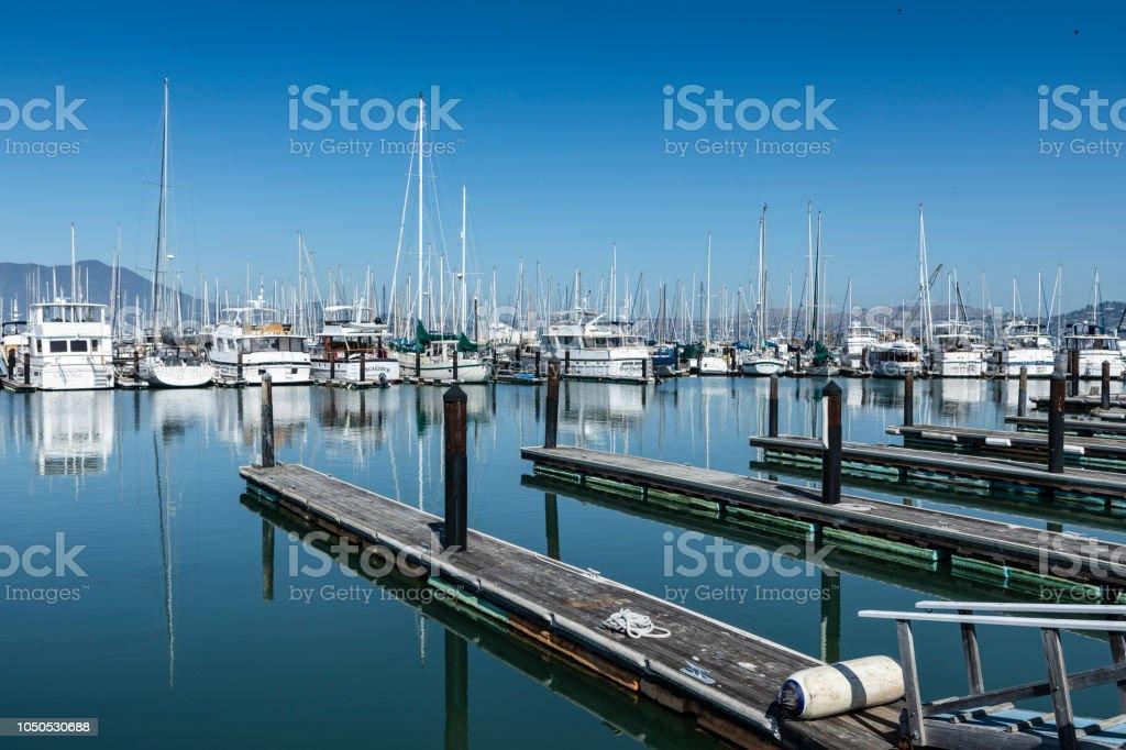 Sausalito Yacht Harbor Stock Photo - Download Image Now - iStock