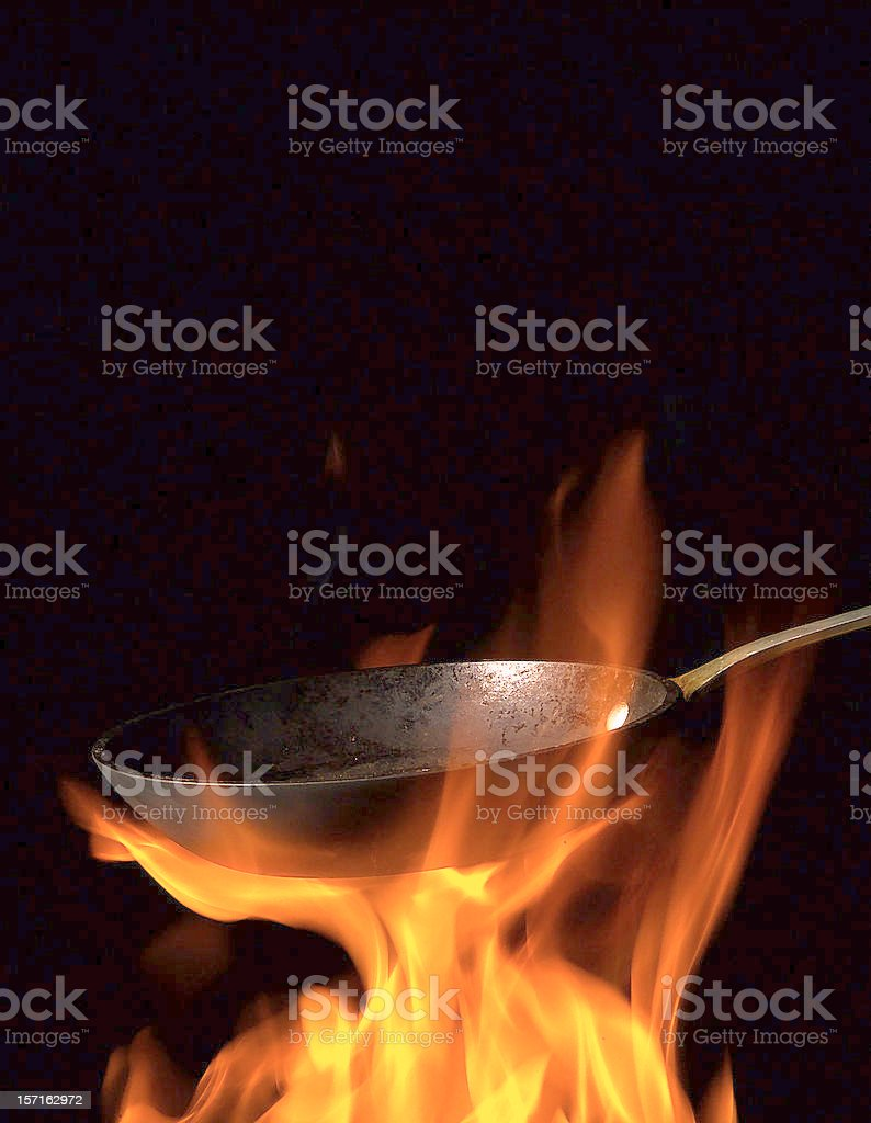 Saute stock photo