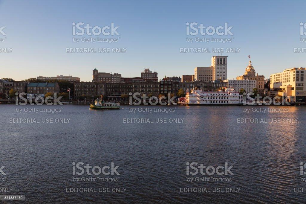 Savannah - Georgia stock photo