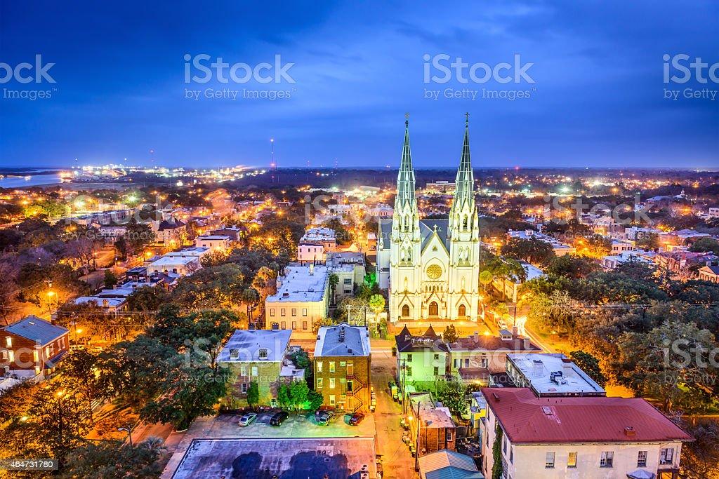 Savannah, Georgia, USA stock photo