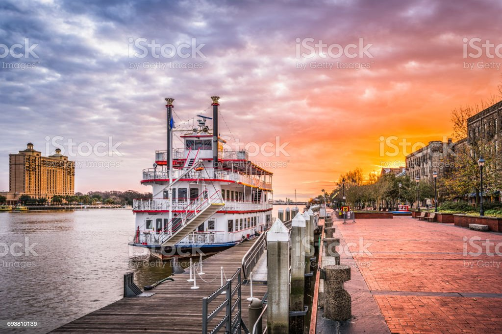 Savannah, Georgia, USA stock photo
