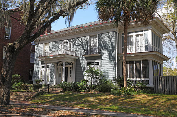 Savannah Home stock photo