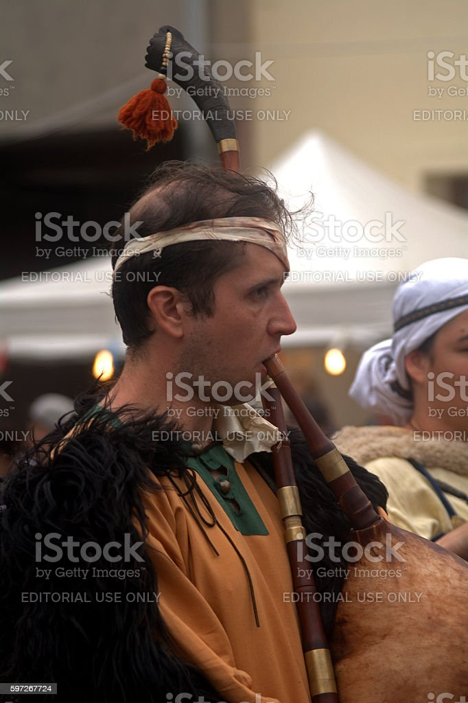Savaria festival, Szombathely, Hungary royalty-free stock photo