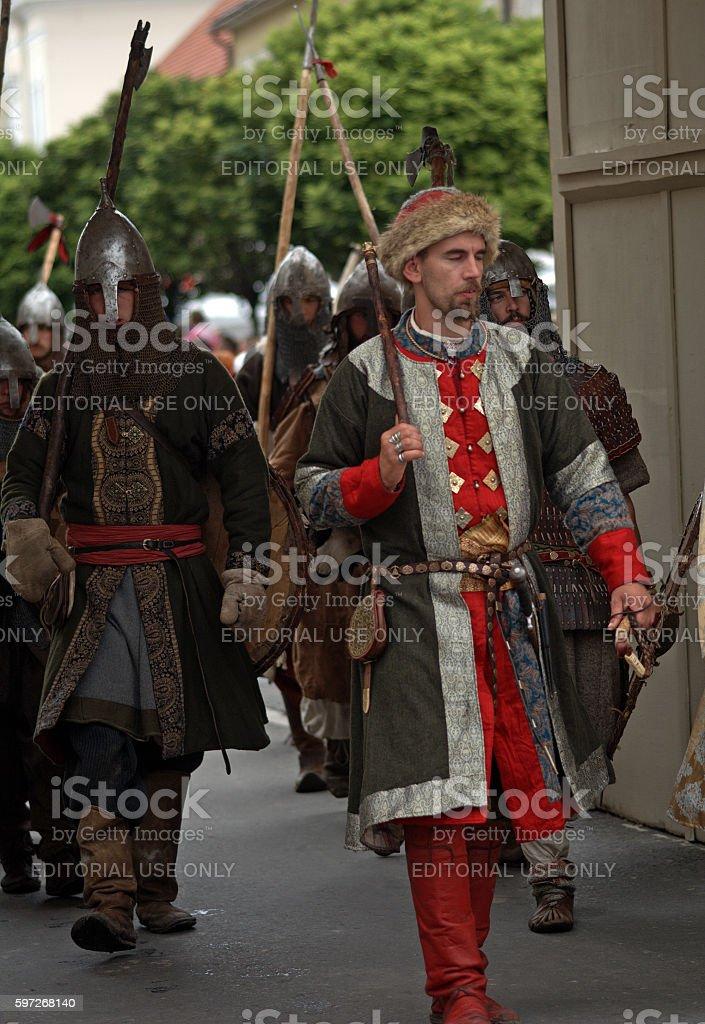 Savaria festival, Szombathely, Hungary royalty-free stock photo