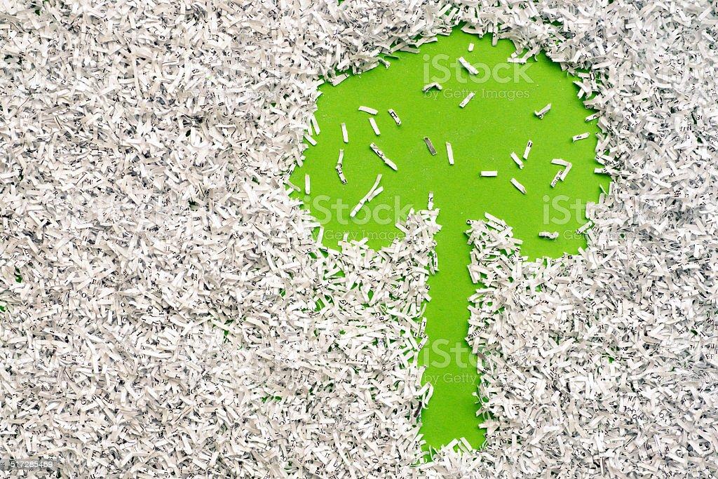save a tree stock photo
