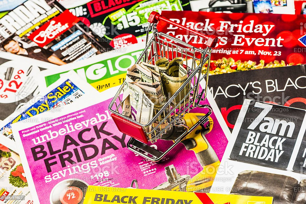 Save Big on Black Friday royalty-free stock photo