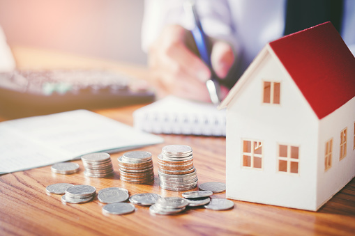 Save Money For Home Cost Stock Photo - Download Image Now