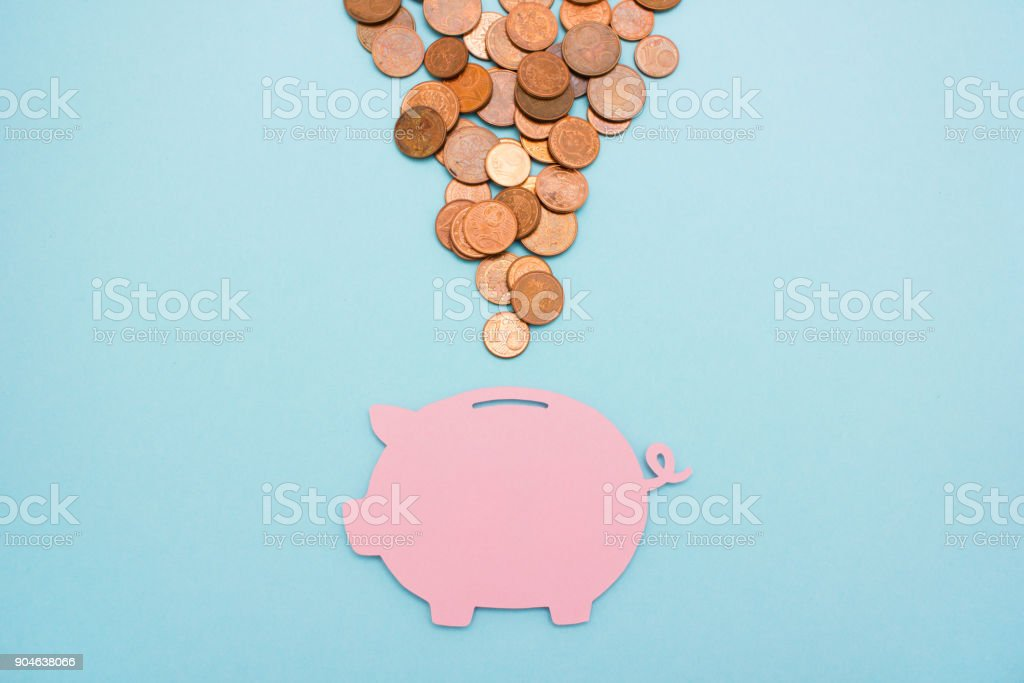 Save money for later stock photo