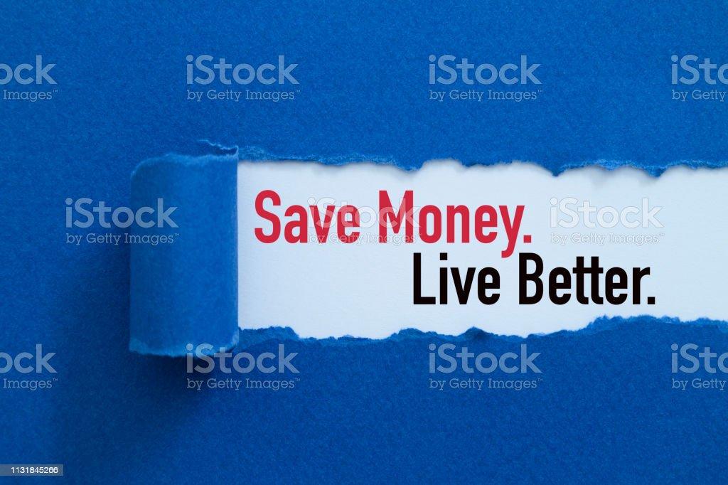 Para kazanın. Daha iyi yaşa. stok fotoğrafı
