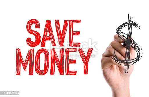 642250754 istock photo Save Money 694847868