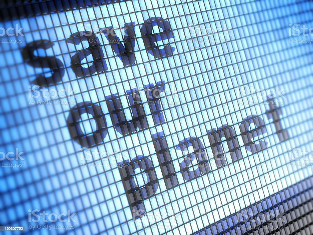 save our planet royalty-free stock photo